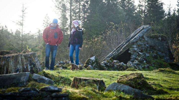Calf House Dolmen at Cavan Burren Park