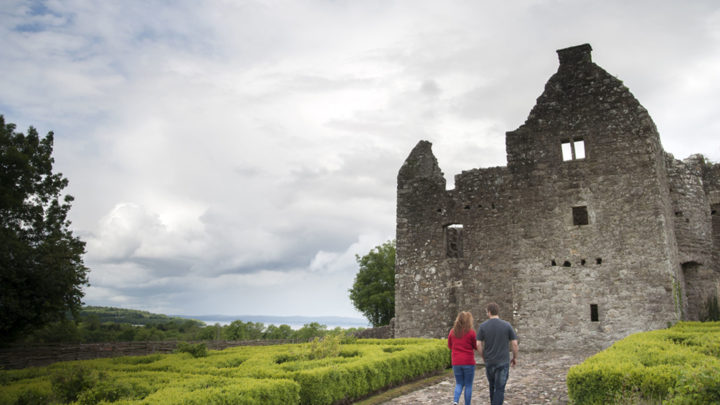 Tully Castle Ruins