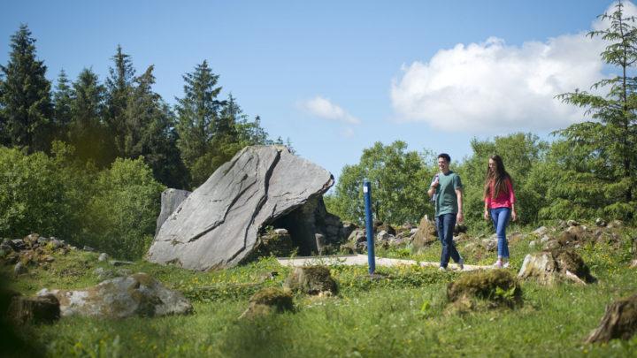 Walkers at Cavan Burren Park