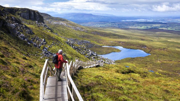 Cuilcagh Mountain Stairway