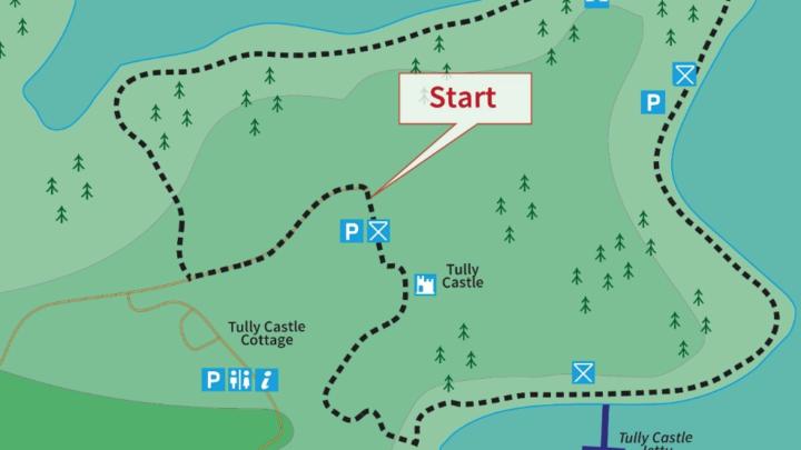Tully Castle Walk   Map