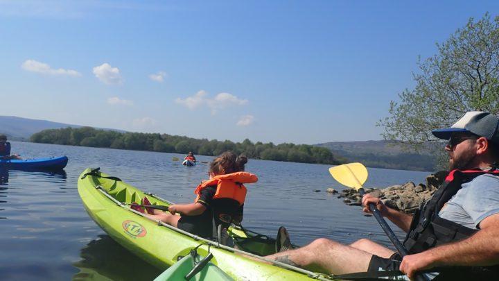 Corralea canoeing