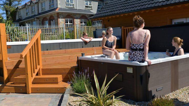 Dulrush Hot Tub Area