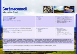 Gortmaconnell Information Sheets