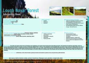 Lough Navar Forest Information Sheets