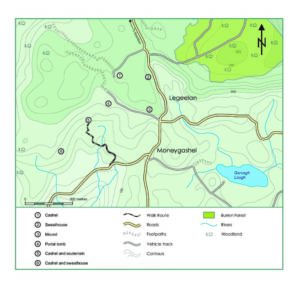 Moneygashel Cashel Map