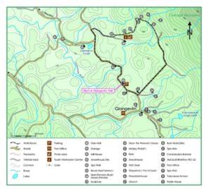 Sean Eamonn Ruari Trail Map